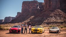 We're kicking off the series with an American road trip to celebrate the V8 engine