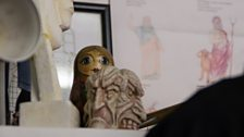 Peeping Russian Doll
