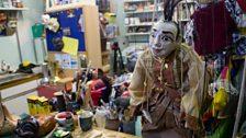 The Mask Maker's Studio
