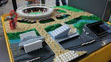 London's 2012 Olympic park in Lego