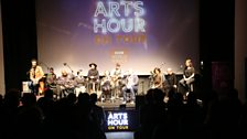 The Arts Hour on Tour panel at the Gray Area Theatre, San Francisco