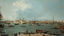 Canaletto (1697 - 1768), Venice: the Bacino di San Marco from San Giorgio Maggiore, c. 1735 – 1744, Italy, P497