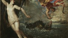 Titian (1485 - 1576),  Perseus and Andromeda, c. 1554 – 1556, Italy, P11