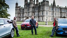 Matt, Chris and Rory are at Burghley House for a unique, cross-country challenge