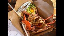 Scottish lobster