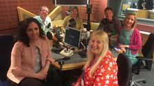 Presenters and guests in the studio - 21st April 2018