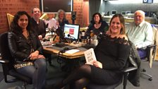 Presenters and guests in the studio - 28th April 2018