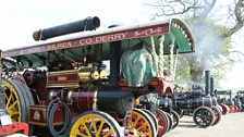 Steam Engines from the Vintage Steam Rally