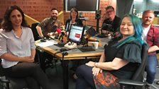 Presenters and guests in the studio - 12th May 2018