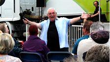 Happiest chap in Ballyclare