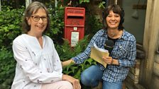 The clue was with this post box which Sue has in her garden!