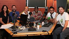 Presenters and guests in the studio - 23rd June 2018