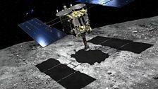Hayabusa 2 spacecraft