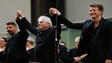 The three conductors of Stockhausen's Gruppen at Tate Modern, London