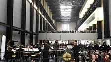 The LSO at Tate Modern performing Stockhausen's Gruppen