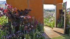 This silver-gilt winning Conceptual garden illustrates where garden design meets art installation