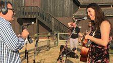 Singing in the Suffolk sunshine