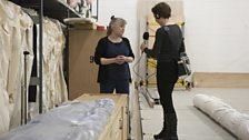 Helen Hughes, Textile Conservator