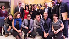 Filmmakers and Festival team