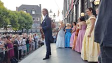 Andre Rieu and his fans