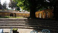 Andre Rieu's rose garden
