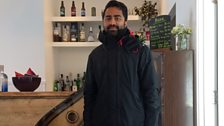Akshay Borges, Head Chef at The String, Lerwick.