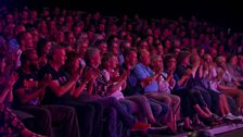 The New Comedy Award audience