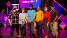 The second round of semi finalists with Mark.