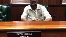 Senator David Jordan, one of the last living observers of the trial of Emmett Till's killers.