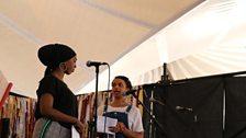 Amina Jama and Rachel Long