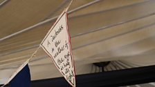 Even more literary bunting