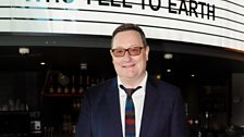 Chris Chibnall at the screening of episode one.