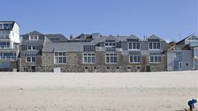Porthmeor Studios and Cellar, designed by MJ Long and Rolfe Kentish