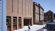 Pallant House Gallery Chichester, designed by MJ Long, Rolfe Kentish, Colin St John Wilson
