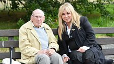Helen Lederer with Eric Mark at Trent Park