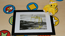 Steve Farnham Print Painting of Harland & Wolff