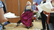 Lilian Bellamy Teller of The Wife of Bath's Tale