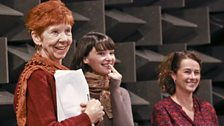 The cast rehearse for The Canterbury Tales