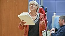 Felicity Finch as Chaucer