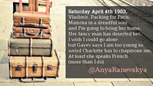 Follow @AnyaRanevskya on Twitter for her journey in real time