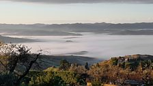 Tuscany's geothermal valley
