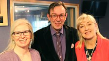 Alison Jack, Stewart Kelly with Cathy