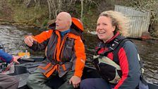 The massive challenge of trying to establish what exactly what is in the loch is down to...