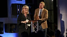 Charlotte Smith and Adam Henson