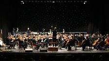 The BBC Concert Orchestra, conducted by Stephen Bell