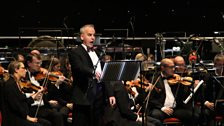 Toby Stafford-Allen with the BBC Concert Orchestra