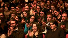 The audience at The Cultural Frontline event at the BBC Arabic Film Festival