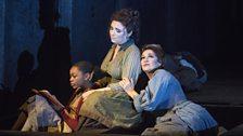 Ashirah Foster Notice, Natalya Romaniw and Marie McLaughlin