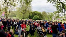 Wow! Thank you to everyone who came along for the day