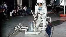 Apollo 11 lunar crew training